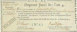 50 Francs FRANCE  1795  SUP