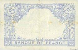 5 Francs BLEU FRANCE  1914 F.02.22 TTB+