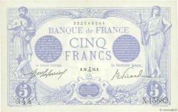 5 Francs BLEU FRANCE  1916 F.02.46 SUP+
