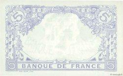 5 Francs BLEU lion inversé FRANCE  1917 F.02bis.04 pr.NEUF