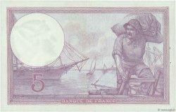 5 Francs VIOLET FRANCE  1921 F.03.05 SUP