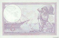5 Francs VIOLET FRANCE  1923 F.03.07 pr.SPL