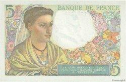 5 Francs BERGER FRANCE  1947 F.05.07a pr.SPL