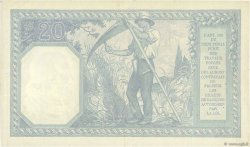 20 Francs BAYARD FRANCE  1916 F.11.01 SUP