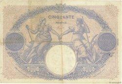 50 Francs BLEU ET ROSE FRANCE  1902 F.14.14 TB+