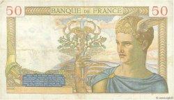 50 Francs CÉRÈS FRANCE  1936 F.17.27 TB+