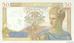 50 Francs CÉRÈS modifié FRANCE  1938 F.18.16 SUP+