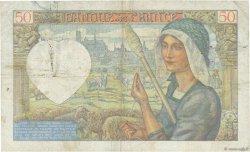 50 Francs JACQUES CŒUR FRANCE  1940 F.19.03 pr.TTB