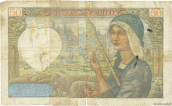 50 Francs JACQUES CŒUR FRANCE  1941 F.19.11 B