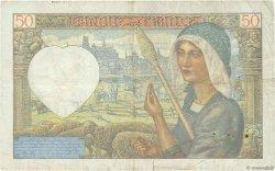 50 Francs JACQUES CŒUR FRANCE  1941 F.19.14 TB+