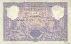 100 Francs BLEU ET ROSE FRANCE  1906 F.21.20 TB