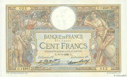 100 Francs LUC OLIVIER MERSON grands cartouches FRANCE  1926 F.24.05 SUP+