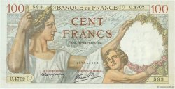 100 Francs SULLY FRANCE  1939 F.26.16 pr.NEUF