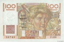 100 Francs JEUNE PAYSAN FRANCE  1953 F.28.39 NEUF