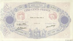 500 Francs BLEU ET ROSE FRANCE  1932 F.30.35 TTB+