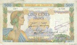 500 Francs LA PAIX FRANCE  1942 F.32.42 pr.TTB