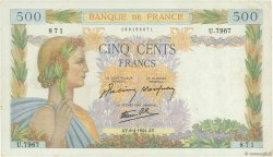 500 Francs LA PAIX FRANCE  1944 F.32.46 SUP