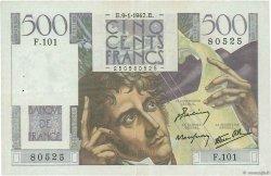 500 Francs CHATEAUBRIAND FRANCE  1947 F.34.07 TTB+