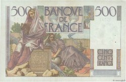 500 Francs CHATEAUBRIAND FRANCE  1947 F.34.07 TTB+