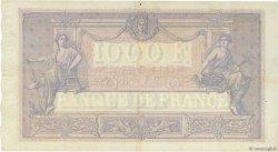 1000 Francs BLEU ET ROSE FRANCE  1914 F.36.28 TTB+