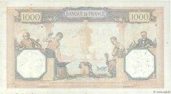 1000 Francs CÉRÈS ET MERCURE FRANCE  1928 F.37.02 TTB