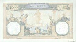 1000 Francs CÉRÈS ET MERCURE FRANCE  1937 F.37.10 pr.SPL