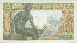 1000 Francs DÉESSE DÉMÉTER FRANCE  1943 F.40.31 TTB+