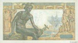 1000 Francs DÉESSE DÉMÉTER FRANCE  1943 F.40.38 TB