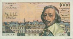 1000 Francs RICHELIEU FRANCE  1954 F.42.07 TTB à SUP