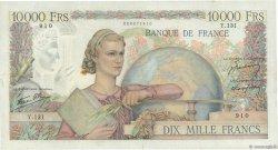 10000 Francs GÉNIE FRANÇAIS FRANCE  1946 F.50.06 pr.TTB