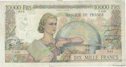 10000 Francs GÉNIE FRANÇAIS FRANCE  1947 F.50.18 TB+