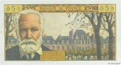 5 Nouveaux Francs VICTOR HUGO FRANCE  1965 F.56.21