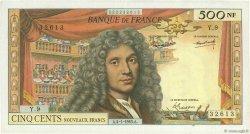 500 Nouveaux Francs MOLIÈRE FRANCE  1963 F.60.04 pr.SUP