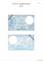10 Francs MINERVE modifié FRANCE  1975 F.07.00 NEUF