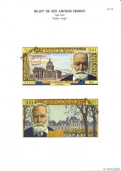 500 Francs VICTOR HUGO FRANCE  1975 F.35.00 NEUF