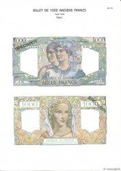1000 Francs MINERVE ET HERCULE FRANCE  1975 F.41.00 NEUF