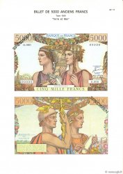 5000 Francs TERRE ET MER FRANCE  1975 F.48.00 NEUF