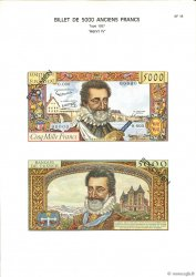 5000 Francs HENRI IV FRANCE  1975 F.49.00 NEUF