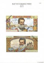 50 Nouveaux Francs HENRI IV FRANCE  1975 F.58.00 NEUF