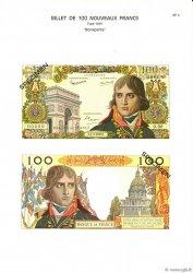100 Nouveaux Francs BONAPARTE FRANCE  1975 F.59.00 NEUF