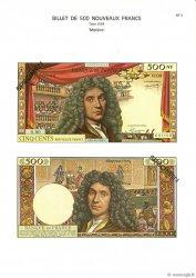 500 Nouveaux Francs MOLIÈRE FRANCE  1975 F.60pl NEUF