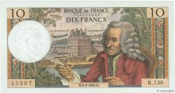 10 Francs VOLTAIRE FRANCE  1965 F.62.13 NEUF