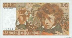 10 Francs BERLIOZ FRANCE  1973 F.63.02 SPL