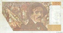 100 Francs DELACROIX imprimé en continu FRANCE  1991 F.69bis.03b2 TTB