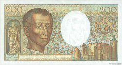 200 Francs MONTESQUIEU FRANCE  1988 F.70.00s2 SUP+