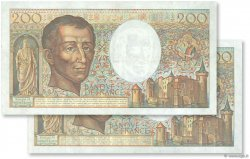 200 Francs MONTESQUIEU FRANCE  1987 F.70.07 TTB+
