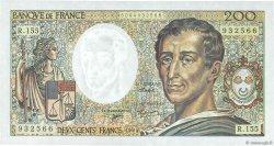 200 Francs MONTESQUIEU Modifié FRANCE  1994 F.70/2.01 NEUF