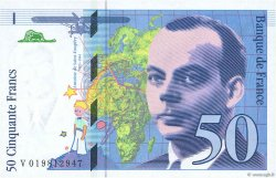 50 Francs SAINT-EXUPÉRY Modifié FRANCE  1994 F.73.01d NEUF