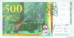 500 Francs PIERRE ET MARIE CURIE FRANCE  1998 F.76.04 NEUF