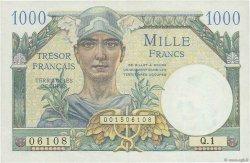 1000 Francs TRÉSOR FRANÇAIS FRANCE  1947 VF.33.01 SUP à SPL